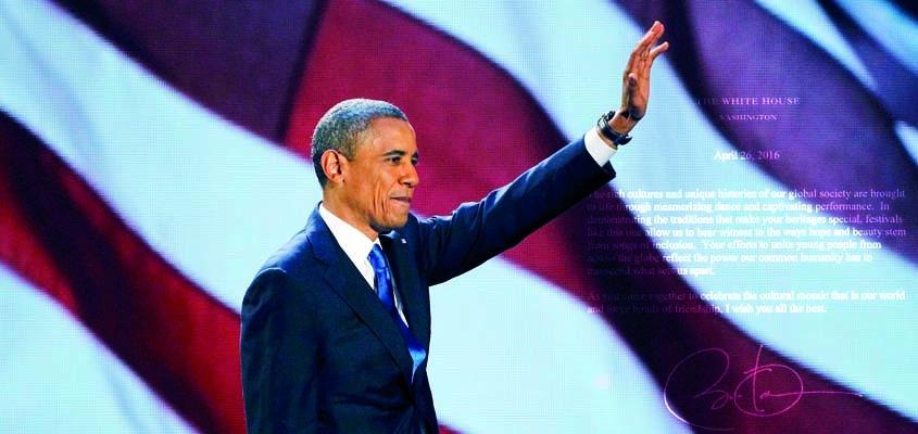 Mesazh nga Obama për Festivalin  e 14 Ndërkombëtarë të Gjuhës dhe Kulturës IFLC