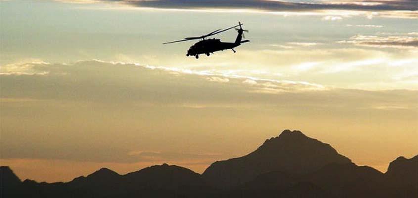 """""""Türkiye'ye ait askeri helikopter Yunanistan'a indi, içindekiler iltica talep etti"""""""