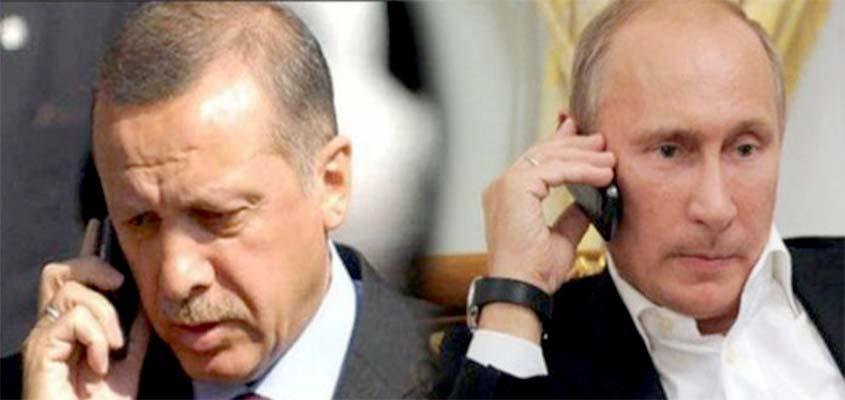 Putin dhe Erdogan biseduan për zgjidhjen e krizës në Siri