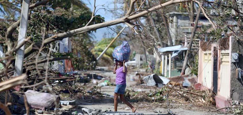 Haiti devastated in wake of hurricane Matthew