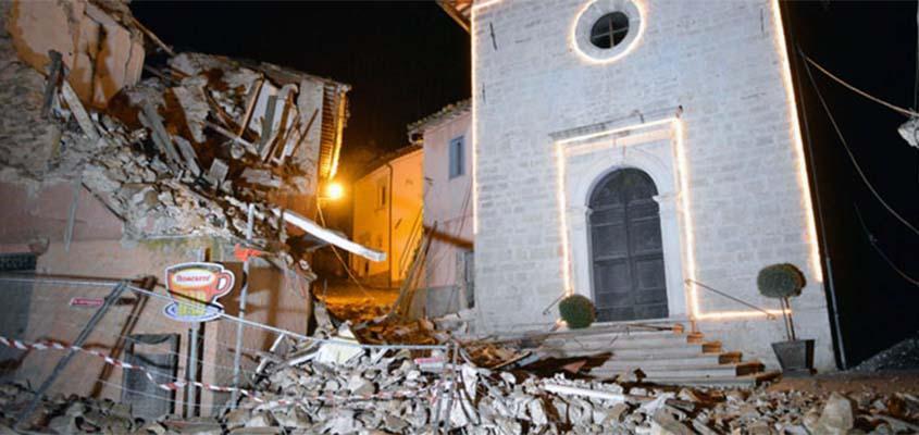 Strong earthquake jolt Italy again, dozens injured