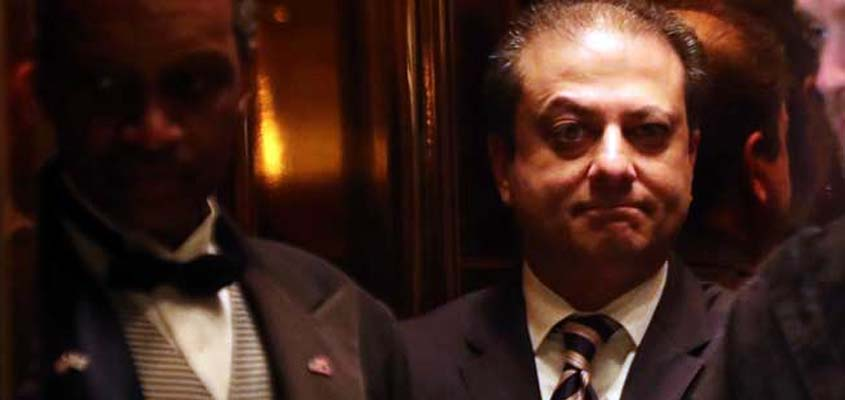 President-elect Trump asks Manhattan US Attorney Bharara to stay on the job