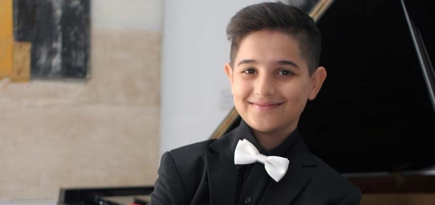 Young pianist Arda Mustafaoglu wins top award at global competition