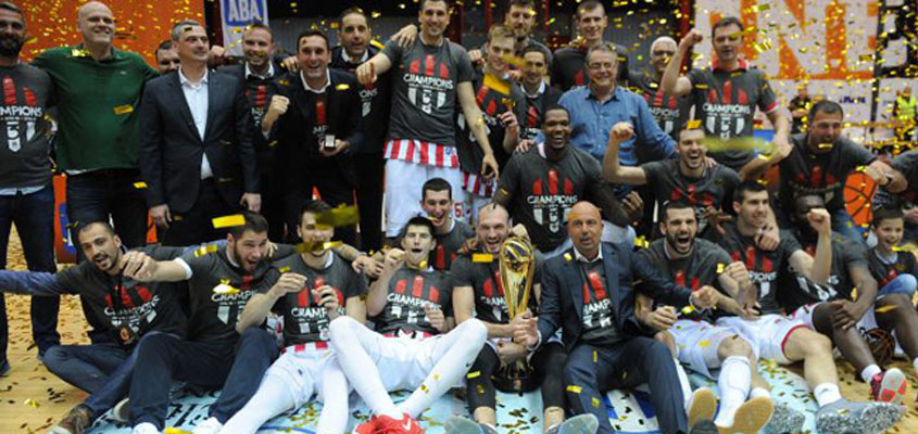 Third consecutive title for Crvena Zvezda in ABA League