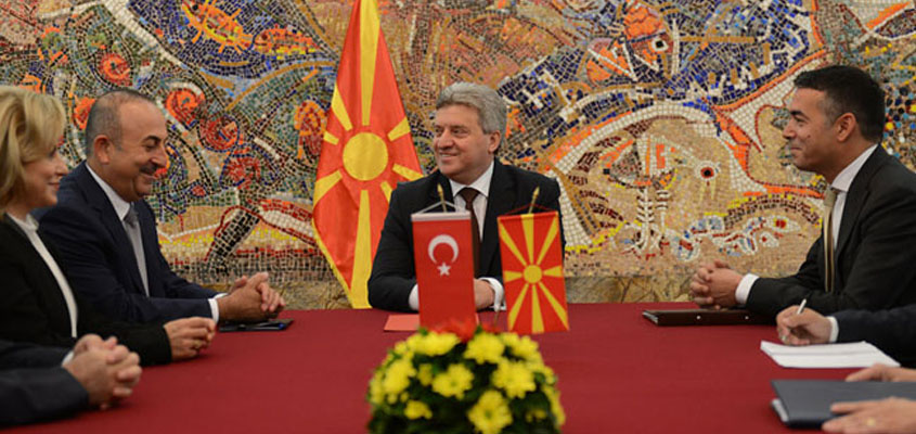 President Ivanov and Turkish FM Cavusoglu discuss further enhancement of bilateral relations