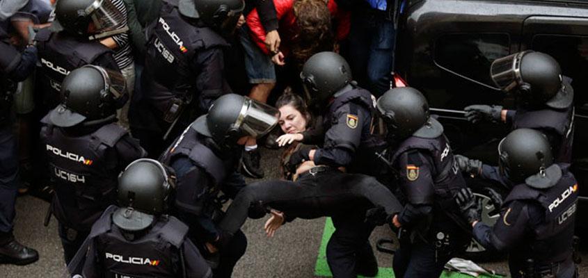 Katalonya'da bağımsızlık referandumu: Yüzde 90 'Evet'