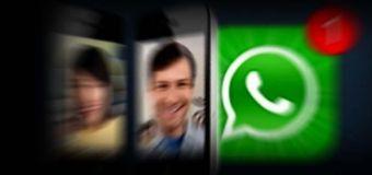 Whatsapp'a görüntülü konuşma geldi