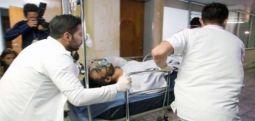 Düşen uçaktan kurtulan kalecinin bacağı kesildi
