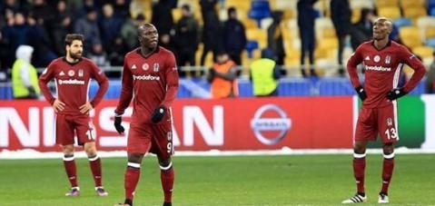 Beşiktaş'tan ağır veda: 6-0