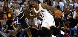 Cavaliers escape Pacers, Spurs beat Grizzlies in NBA playoff openers