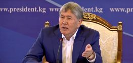 Kyrgyz president: Those calling Turkish teachers terrorists should see a doctor