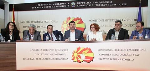 KSHZ: LSDM udhëheq në Shkup dhe në 50 komuna, VMRO-DPMNE në nëntë, BDI në 10, ALEANCA PËR SHQIPTARËT në  një komunë