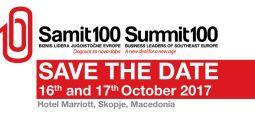 """Mbi 150 liderë biznesi nga EJL dhe katër kryeministra në """"Samitin 100"""" në Shkup"""