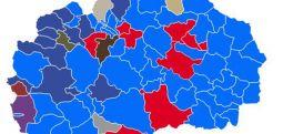 Rezultatet në komunat shqiptare në Maqedoni