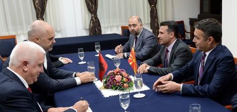 Zaevi dhe Rama për intensifikim të bashkëpunimit ekonomik dhe integrimit euroatlantik të rajonit
