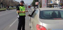 Trafik polisleri adeta ceza yağdırdı..