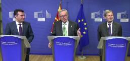 AB Komisyonu Başkanı Juncker: Makedonya müthiş bir ilerlerleme kaydetmiştir