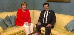 Zaev 21 Şubat günü Almanya'da Merkel ile buluşacak..