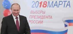 Според податоци од излезност на руски центар за јавно мислење - Путин е реизбран за шеф на државата