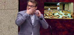 Hollanda Meclisi'nde milletvekili konuşurken intihar girişimi