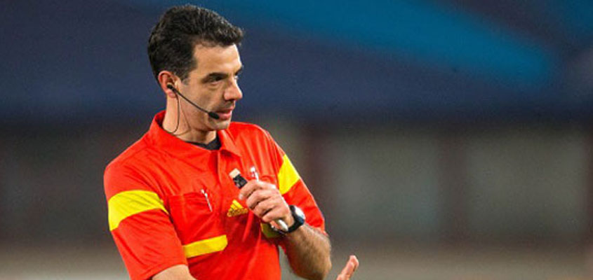 Stavrev will referee at the Macedonian Cup finals on Wednesday