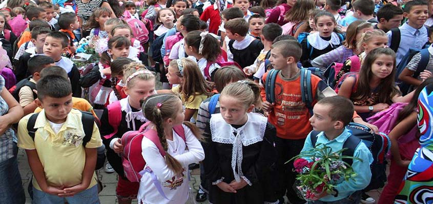 End of the school year for 270.000 elementary and high school students