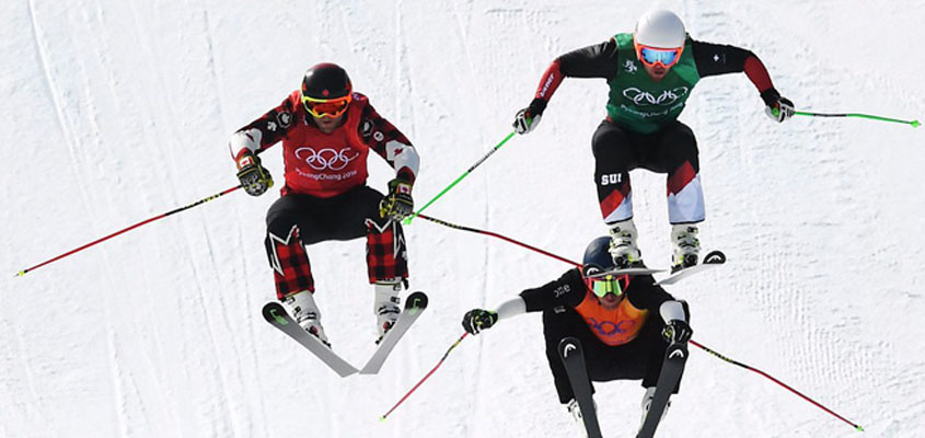Canada's Brady Leman wins gold in men's ski cross