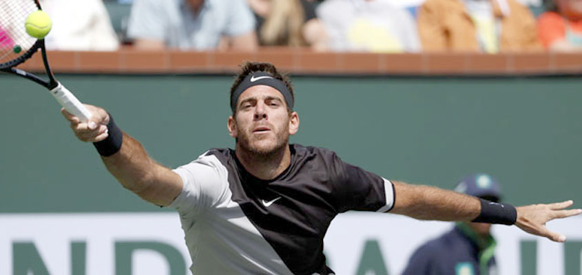 Indian Wells: Juan Martin del Potro ends Roger Federer's unbeaten run
