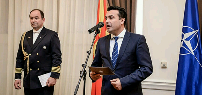 PM Zaev: Macedonia determined to become 30th NATO member