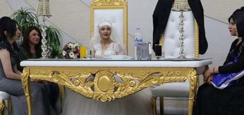 Groom jailed for insulting Erdoğan, bride performs ceremony alone