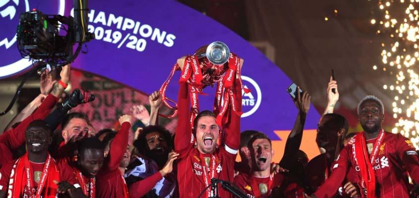 Liverpool lift Premier League title after thrilling win over Chelsea