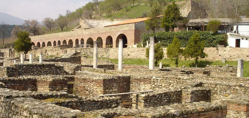Start of reconstruction works at Heraclea Lyncestis site in Bitola