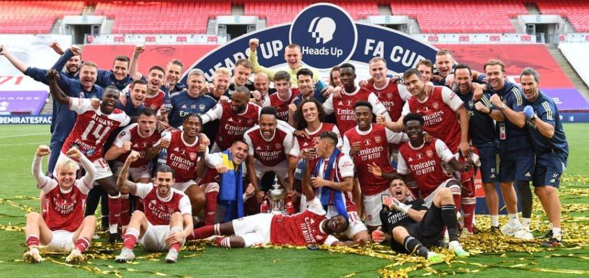 FA Cup winners Arsenal to make 55 staff redundant due to Covid-19