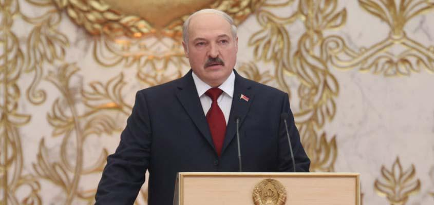 Lukashenko sworn into office following disputed Belarus election