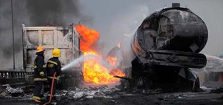 Oil tanker truck explodes in Nigeria killing 23, including children