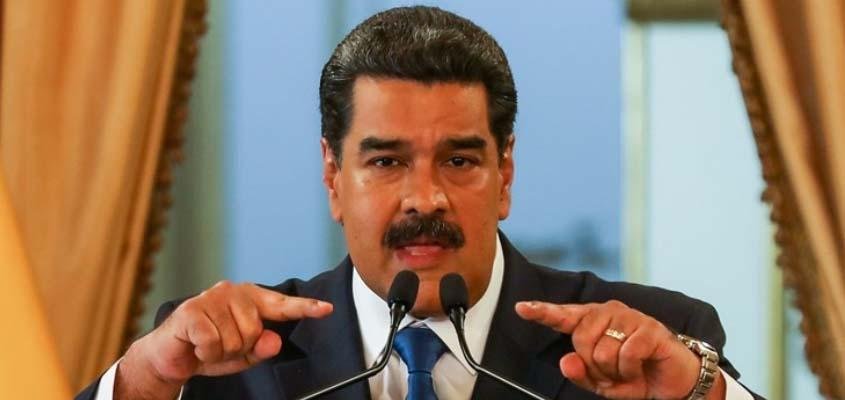 Venezuelan President Maduro calls the US a threat to world peace