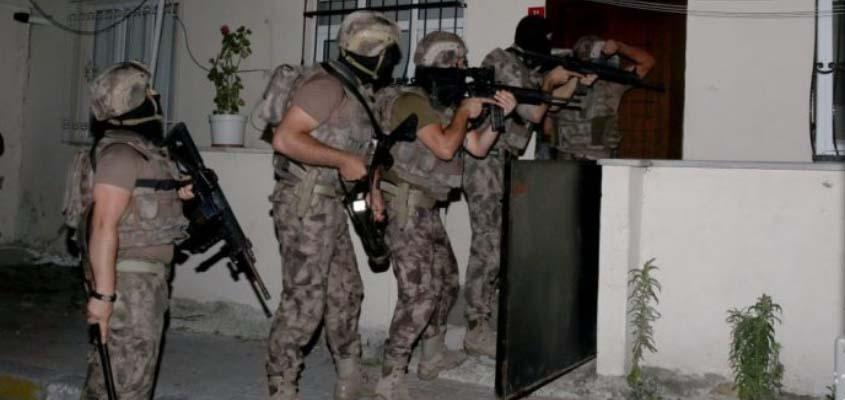 Police raids target 182 over Gülen, pro-Kurdish and leftist ties
