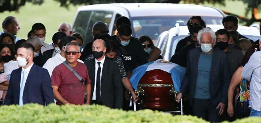 Argentinian football legend Maradona buried in Buenos Aires