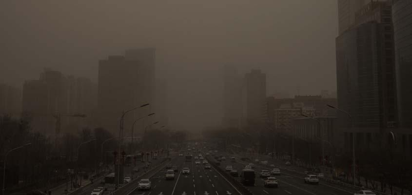 Northern China hit by strongest sandstorm in a decade