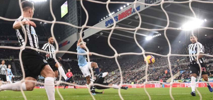 Newcastle on brink of safety after stunning Leicester
