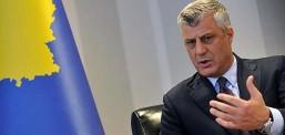 Косовскиот претседател, Хашим Тачи поднесе оставка