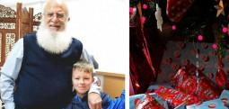 Një fëmijë në Londër katër vite rradhazi pranon dhurata për rastin e Vitit të Ri nga një musliman i moshuar për një arsye që do t'ju habis të gjithëve! (FOTO)