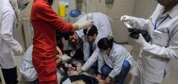 Chemical attack kills 70 in Syria enclave