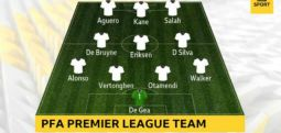 İngiltere'de Yılın Futbolcusu Muhammed Salah seçildi; işte en iyi 11!