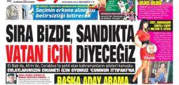 """Sabah şehitlerin babalarını manşet yaptı, Erdoğan'a oy istedi: """"200 şehit bunun için miydi?"""""""