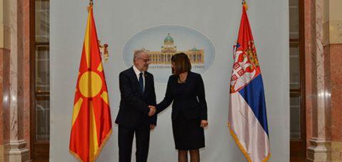 Џафери и Гојковиќ: Местото на Македонија и Србија е во ЕУ