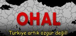 Türkiye artık özgür değil
