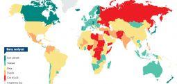 Dünyanın en barışçıl ülkesi İzlanda, Makedonya 87.sırada