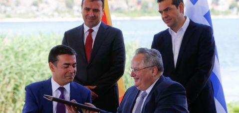 Uluslararası topluluk Yunanistan ve Makedonya'nın anlaşmasından memnun..