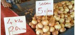 Patates ve soğan fiyatları rekor kırdı